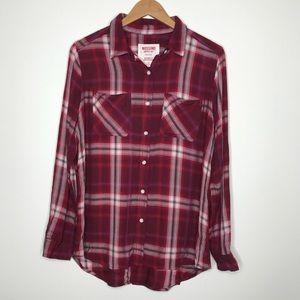 Mossimo Supply Co. Boyfriend Flannel size medium